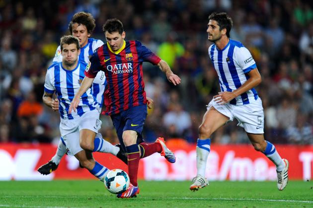 Barcelona vs. Real Sociedad: Copa Del Rey Live Score, Highlights, Report
