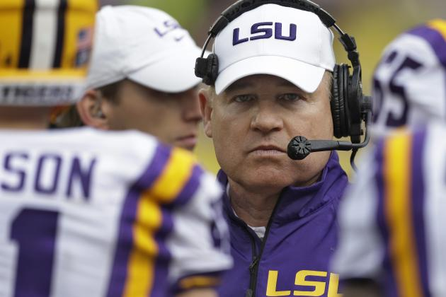 LSU, Les Miles Steal the Spotlight on National Signing Day