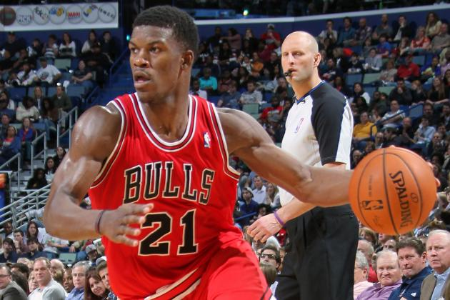 Butler Quietly Has Fifth Straight Double-Figure Game in Bulls Win