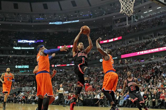 Can Derrick Rose Alone Lure Carmelo Anthony to Chicago Bulls?