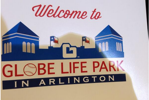 Rangers' Stadium Naming Rights Go to Globe Life