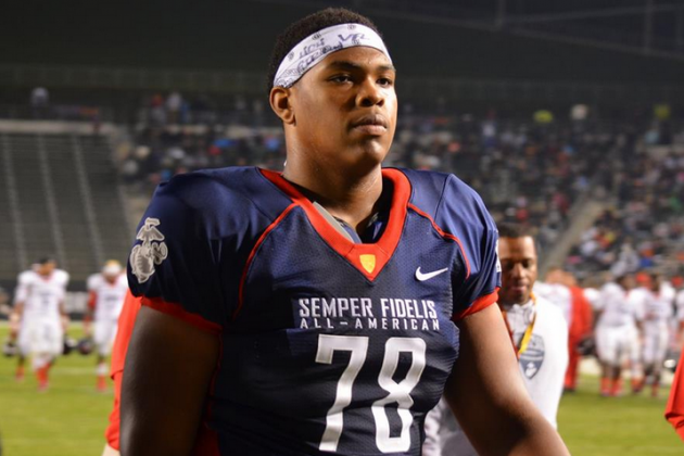 Orlando Brown Flips Commitment from Tennessee to Oklahoma