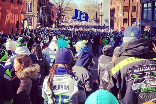 Seattle Seahawks Parade 2014: Twitter Reaction, Photos, Videos, GIFs and More