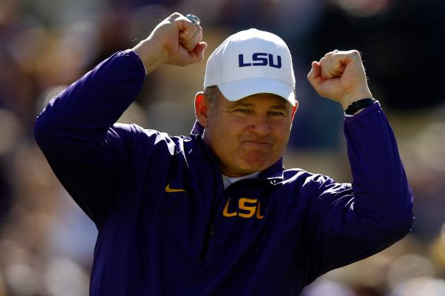 LSU's 2014 Class Is Stacked, Now Les Miles & Coaching Staff Must Develop Talent