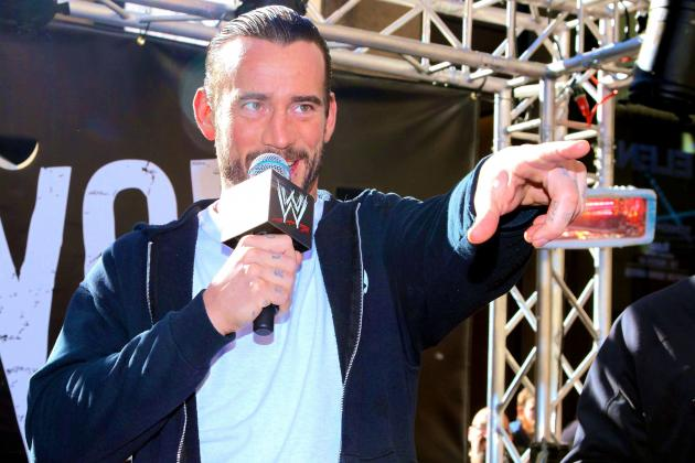 Bellator MMA Interested in CM Punk, Green Power Ranger Asks for Fight