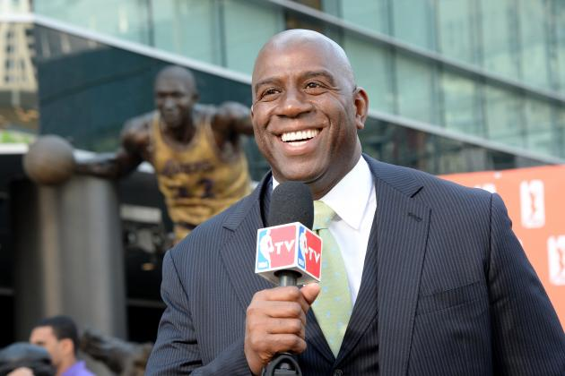Magic Johnson Willing to Help LA Lakers Recruit Free Agents to Franchise