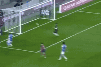 GIF: Real Sociedad Keeper Enaut Zubikarai Scores Comical Own Goal vs. Barcelona