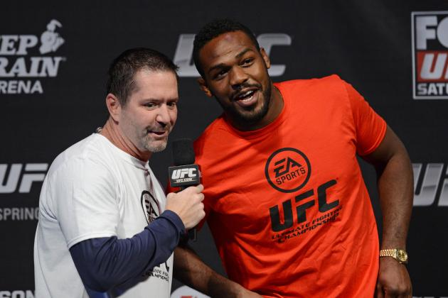 Jon Jones Talks 'Humbling' Gustafsson Fight, Gameplan for Glover Teixeira