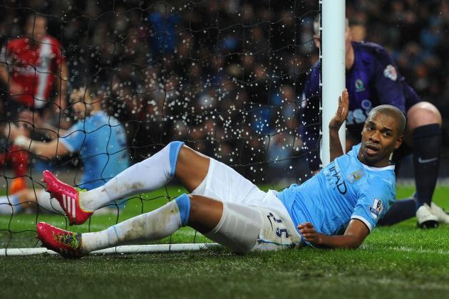 Fernandinho Injury Underlines Lack of Midfield Depth at Manchester City