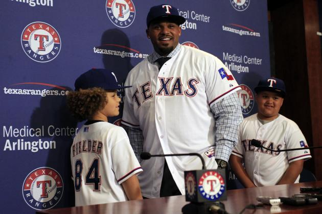 What Is Prince Fielder's New Ceiling in the Texas Rangers Lineup?