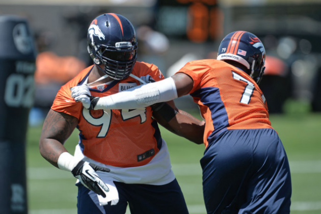 Broncos Sign Practice Squad Players, Add Gerrell Robinson