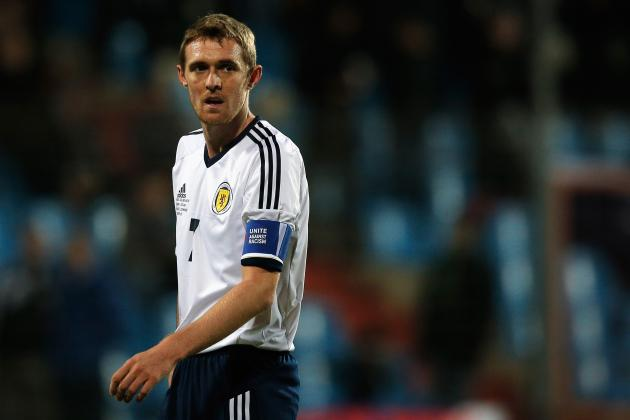 Darren Fletcher Wants Scotland Place on Merit