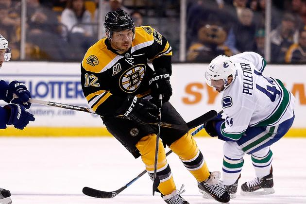 Boston Bruins' Jarome Iginla Records Career Assist No. 600
