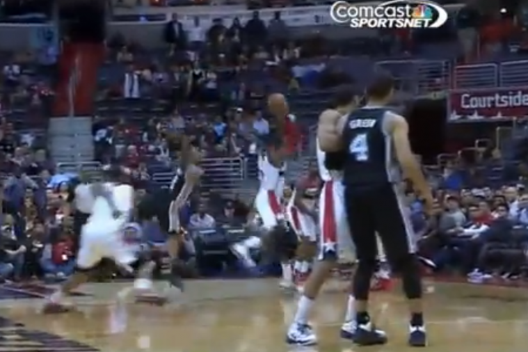 John Wall Makes an Incredible Steal and Goes Coast-to-Coast to Send Game to 2OT