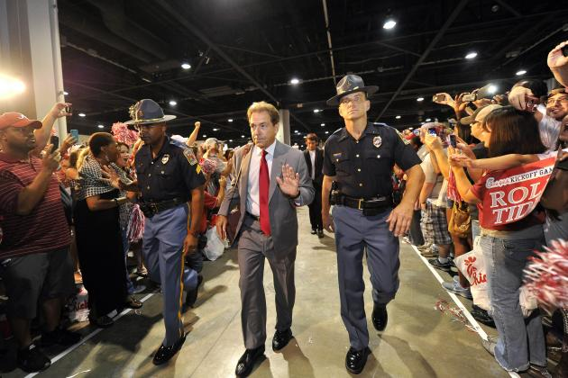 Alabama Football: Nick Saban Still King of Recruiting with 2014's No. 1 Class