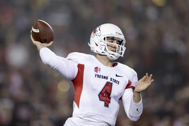 Derek Carr NFL Draft 2014: Highlights, Scouting Report for Oakland Raiders QB