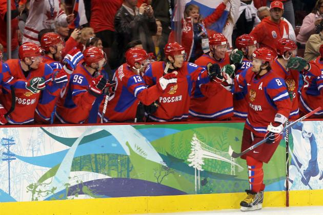 Russian Olympic Hockey Team 2014: Blueprint to Win Gold on Home Soil