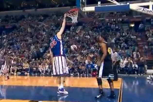 The Man Who Can Dunk Without Jumping