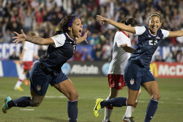 USA vs. Russia Women's Soccer: Live Stream, TV Schedule and Preview