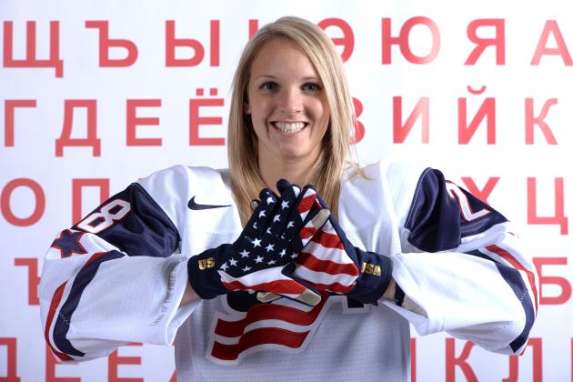 Amanda Kessel: Phil Kessel's Sister Ready for Sochi Winter Olympics