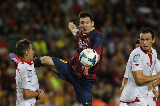 How Barcelona Will Line Up Against Sevilla