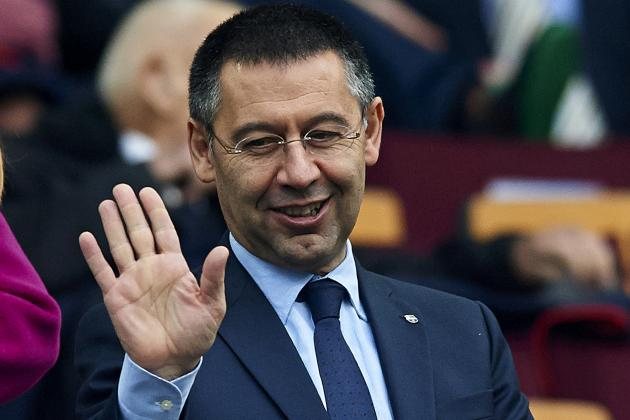 New Barcelona President Josep Bartomeu Says Neymar Scandal Won't See Him Leave