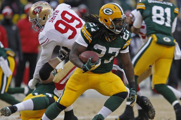 How the Packers' Eddie Lacy Compares to Former All-Pro RB John Brockington