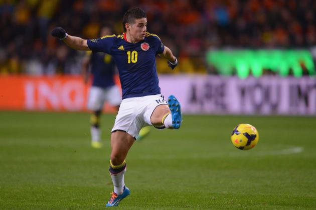 Tighe's 2014 World Cup Tactics Board: Analysing Jose Pekerman's Colombia