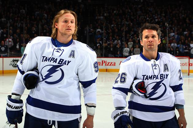Martin St. Louis Named to Team Canada Hockey as Steven Stamkos' Replacement