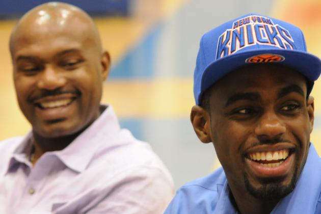 Knicks' Hardaway Jr. Will Team Up with Father