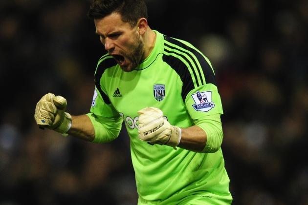 West Brom Boss Pepe Mel Reckons Ben Foster Is England's Best Goalkeeper