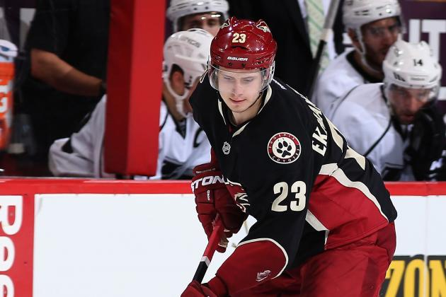 Phoenix Coyotes Defenseman Oliver Ekman-Larsson Enters Olympic Limelight