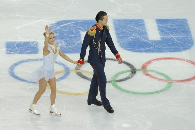 Pairs Figure Skating Results 2014: Team Trophy Pair Short Scores and Recap