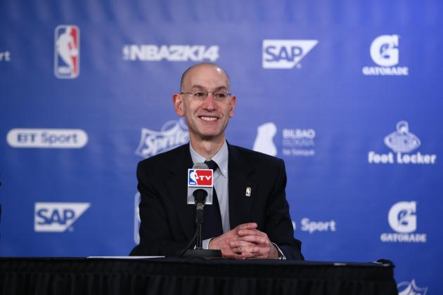Adam Silver Expects NBA to Rival the NFL in U.S. Sports Popularity