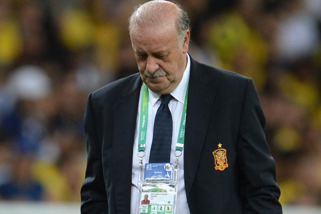 Del Bosque Unhappy with Spain Players