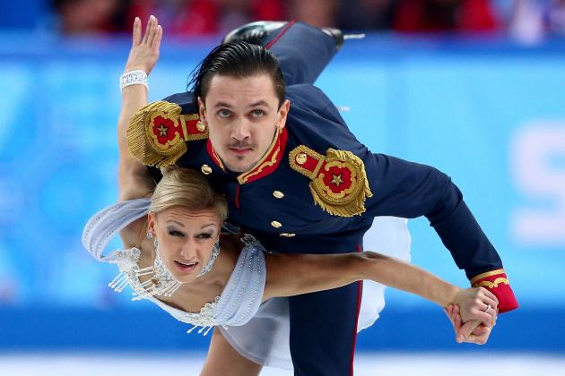 Olympic Figure Skating Results 2014: Top Performances from Opening Day