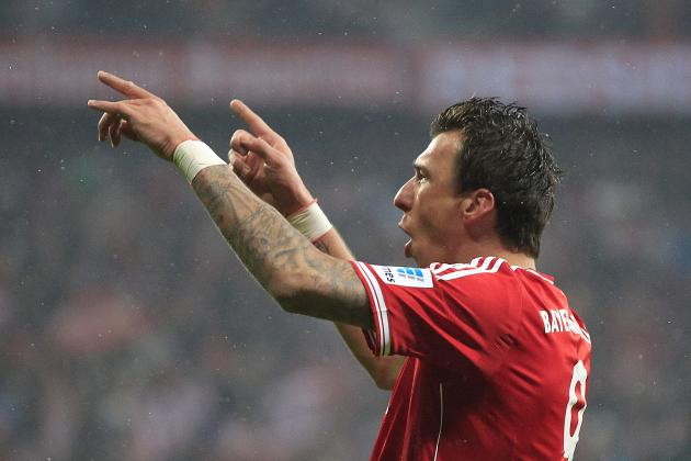 Arsenal Transfer Rumours: Mario Mandzukic Would Be Perfect Summer Signing