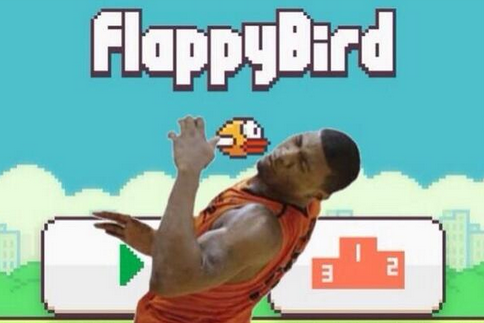 Marcus Smart's Flopping Gets Mixed with 'Flappy Bird'