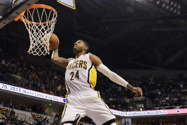 NBA Slam Dunk Contest 2014: Paul George Will Destroy the Competition