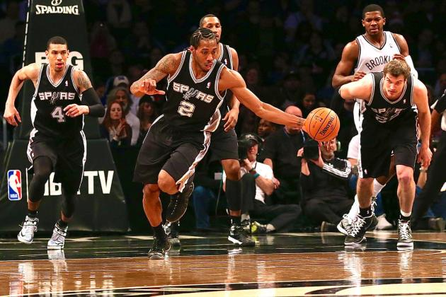 San Antonio Spurs vs. Brooklyn Nets: Live Score and Analysis