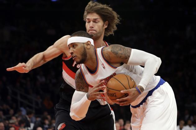 Best Tweets from New York Knicks' Battle with Portland Trail Blazers