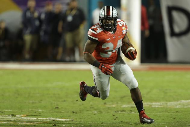 2014 NFL Draft: Updated Running Back Rankings with Draft Grades