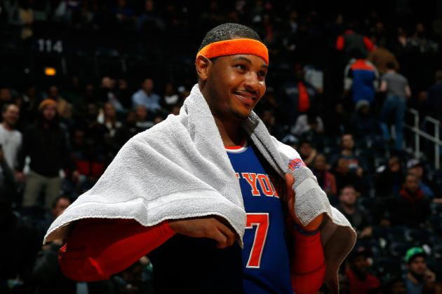 Should LA Lakers Go All-In on Carmelo Anthony This Offseason?