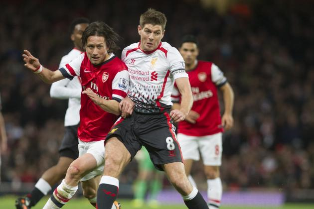 Film Focus: Midfield Battle Will Be Key in Liverpool vs. Arsenal