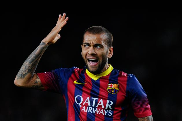 Dani Alves May Need to Make Way for Barcelona to Catch Up with the Modern Game