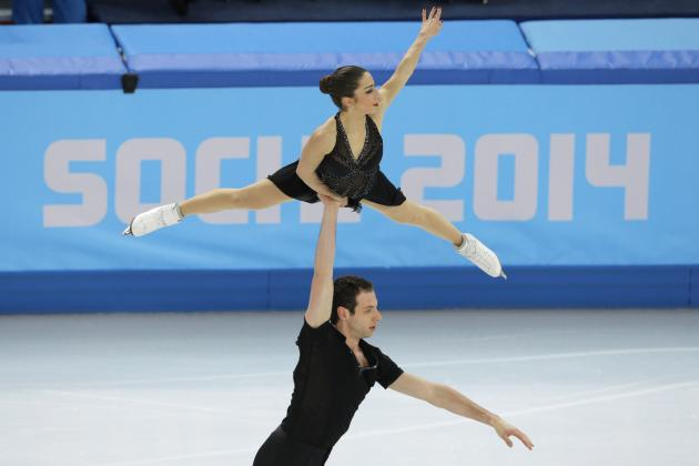 Marissa Castelli and Simon Shnapir Focus on Performance, Not Medal Contention