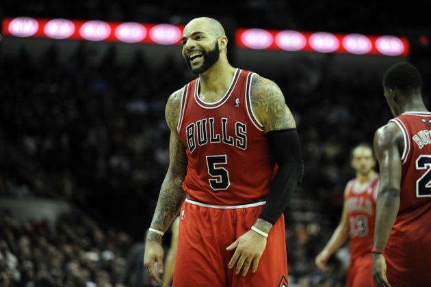Carlos Boozer Suffers Incredibly Odd Injury