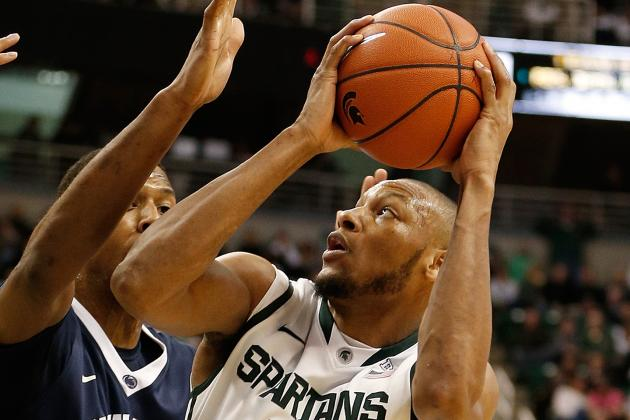 Michigan State Brings the (Adreian) Payne in Blowout of PSU