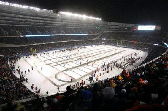 Chicago Too Cold to Consider as Super Bowl Site