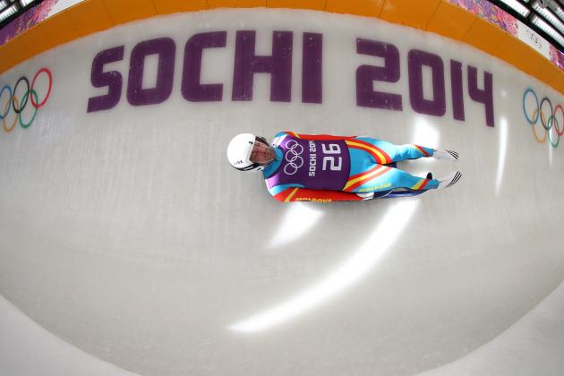See Incredible Photo of an American Luge Run in Sochi